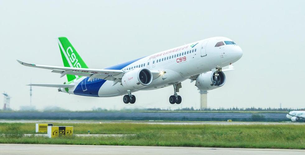 الصين تنافس في الطائرات المدنية