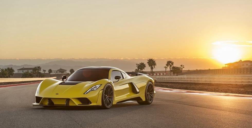 سيّارة فينوم F5  الخارقة ب 1.6 مليون دولار