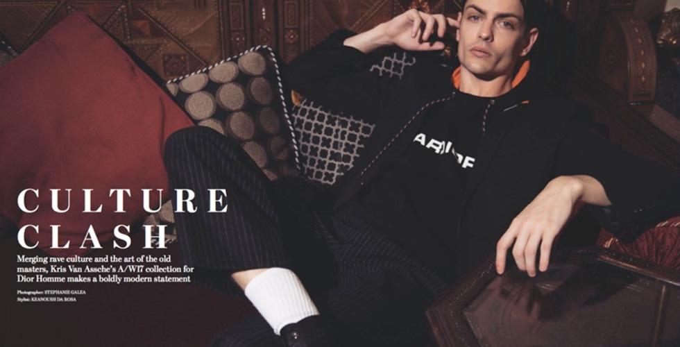 Dior Homme تكرّم زخرفات الاحتفال