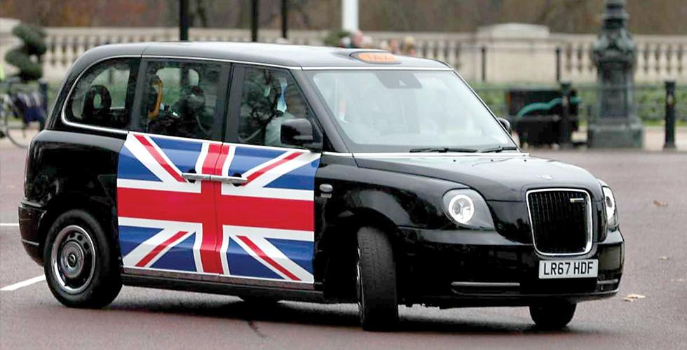 تاكسي لندن كهربائي من دون إجرة إضافية