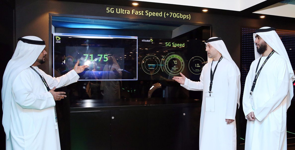 تقنيّة 5G  ستحرز أرباح 28 مليار دولار في الخليج