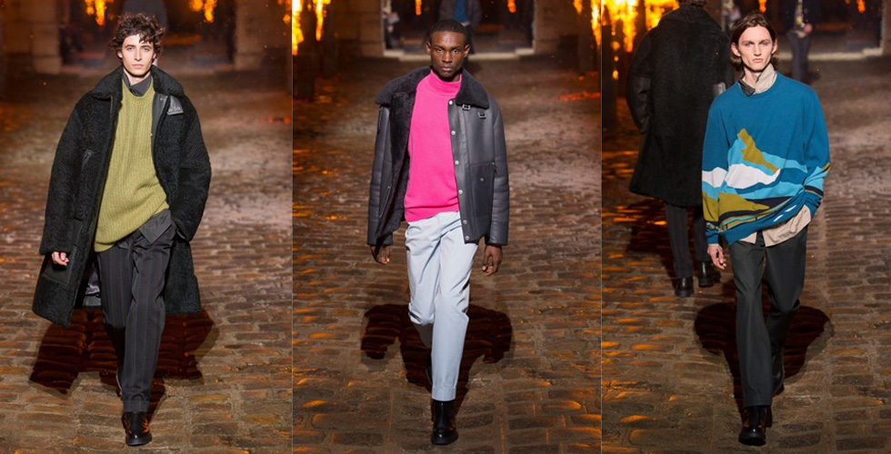 اعدادات مميّزة لعرض أزياء Hermès