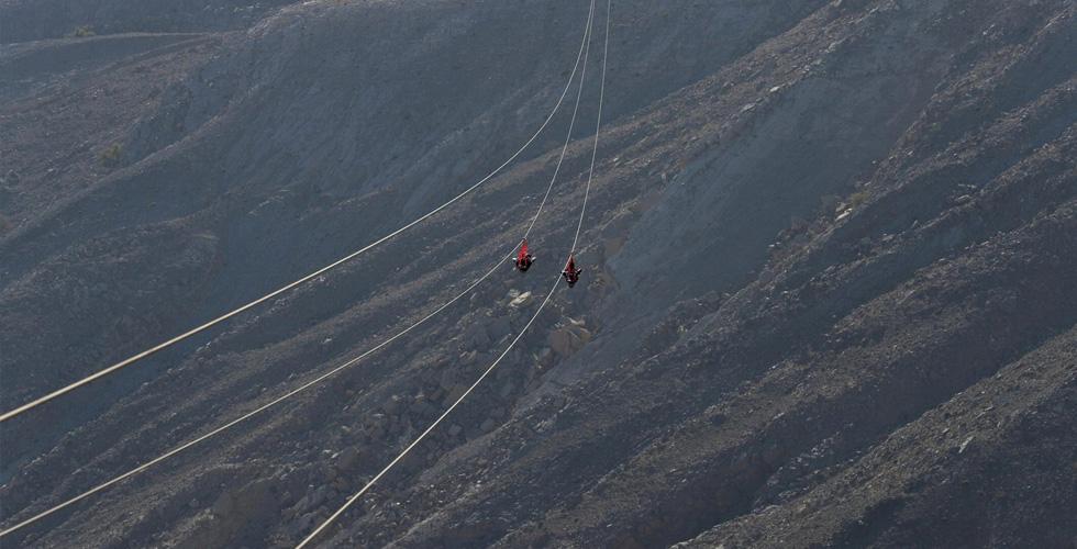 أطول مسار انزلاقي في الامارات