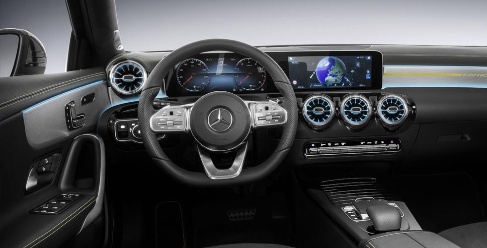 مرسيدس الجديدة تستثمرفي تكنولوجيا الصوت والقيادة الذكية