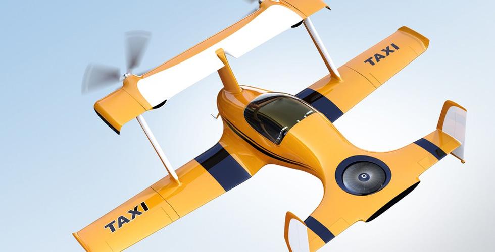 تويوتا تستثمر في تاكسي طائر