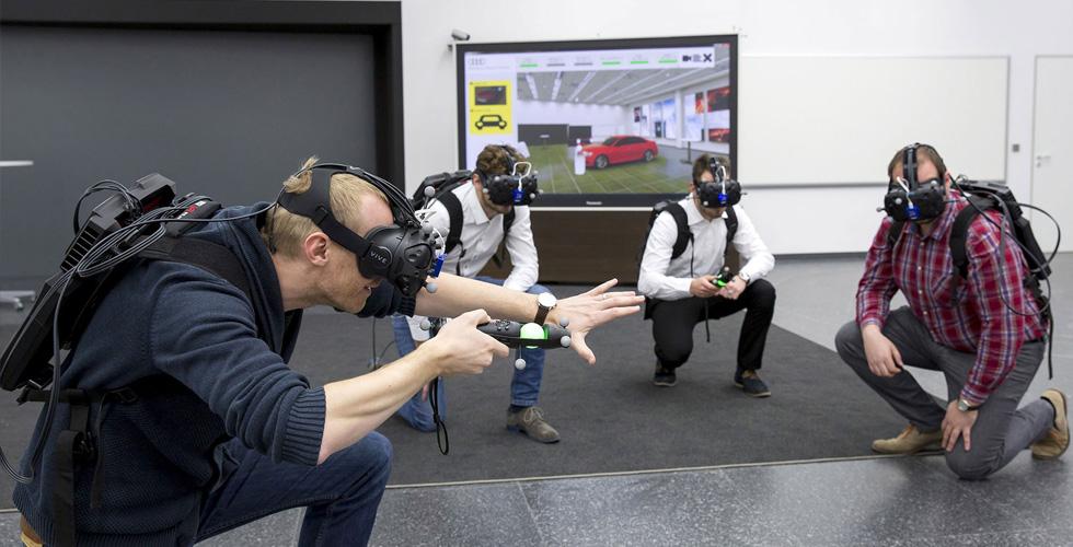 أودي تختبر تقنيّة جديدة للواقع الافتراضيّ