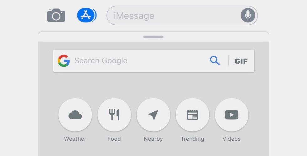 غوغل يدخل إلى تطبيق iMessage