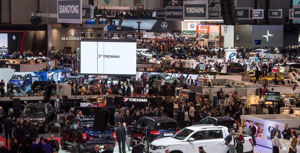 في جنيف: الإطارات ذكيّة والسيّارات تطير