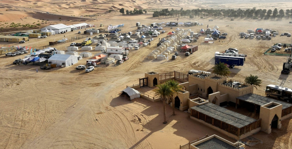 التغلّب على الجفاف في رالي أبوظبي الصحراوي