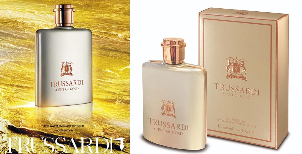 عطر Scent of Gold من Trussardi
