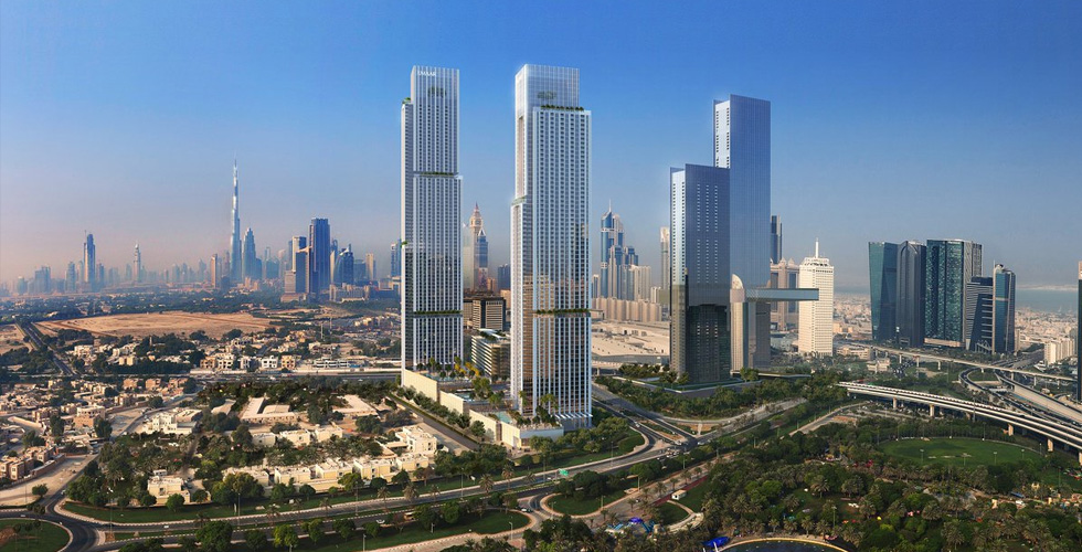 إعمار: فيدا زعبيل بإطلالات بانورامية على دبي