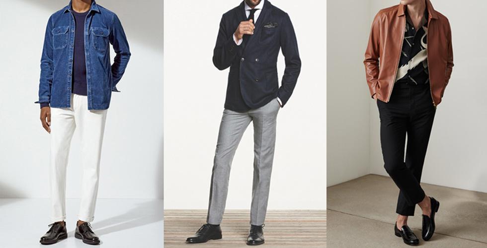 الأحذية الرجالية ومطابقة الألوان