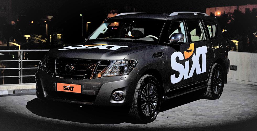 SIXT تستقبل سيّاراتٍ من نيسان