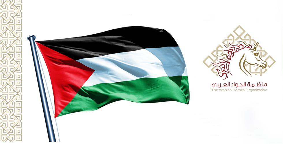 فلسطين في منظمة الجواد العربي