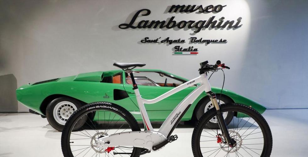 الدّرّاجة الهوائيّة الكهربائيّة الأولى للامبورغيني