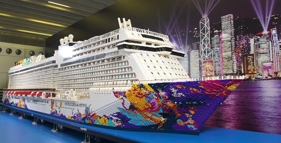 إليكم أكبر سفينة ليغو
