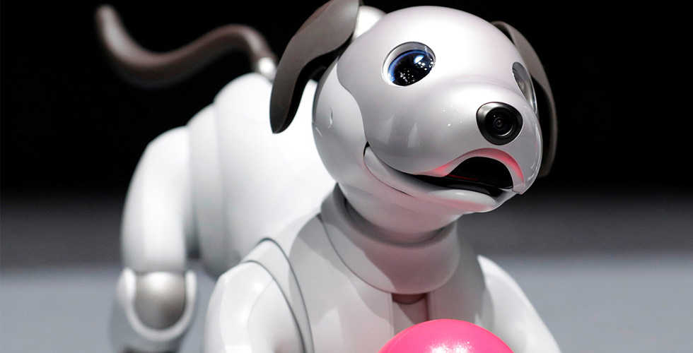 Sony  تبيع آلاف الكلاب الآليّة