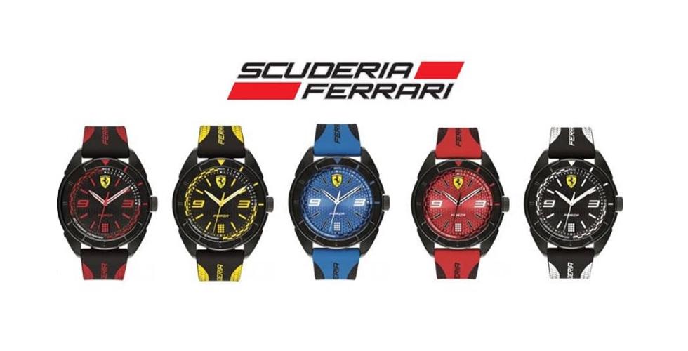 ساعة Forza جديدة من سكوديريا فيراري