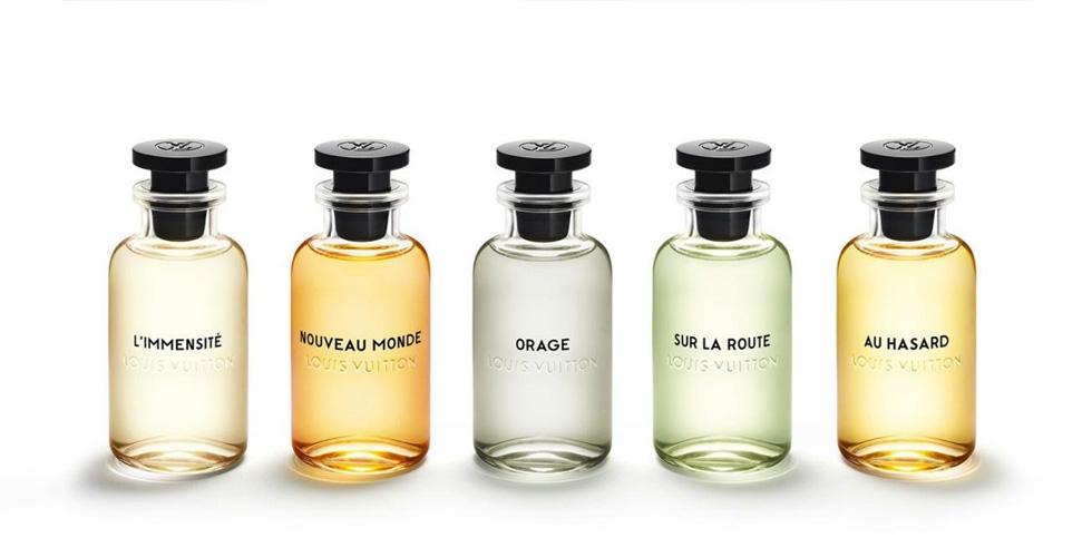 مجموعة عطور رجالية من Louis Vuitton