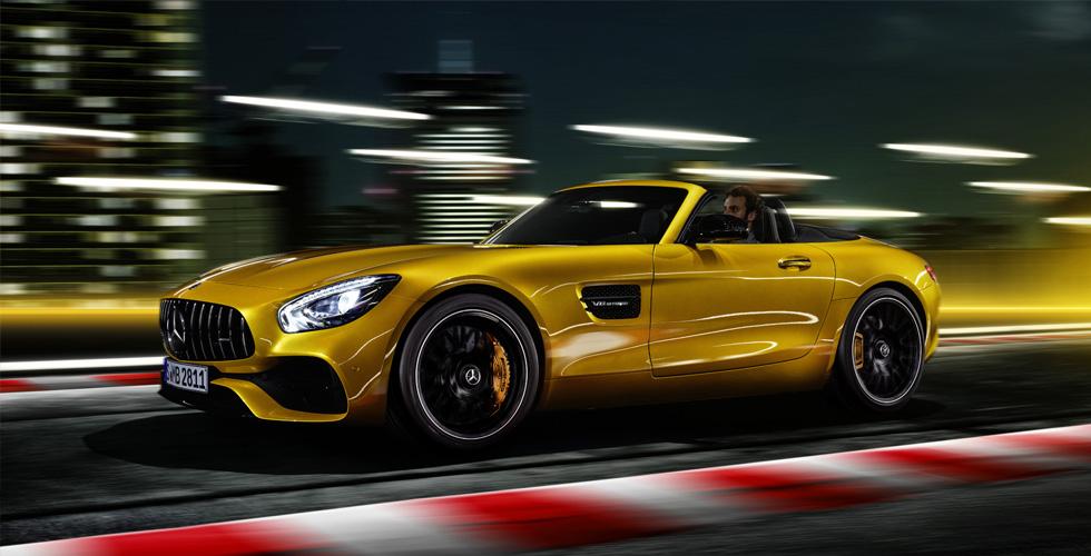 Mercedes-AMG GT S  الآن بنسخة رودستر