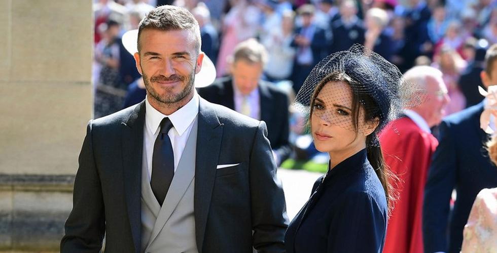 بيكهام يتألّق في الزفاف الملكي