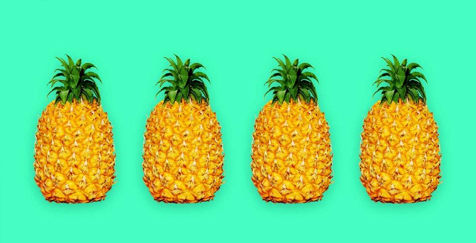فاكهة الأناناس وفوائدها الصحية