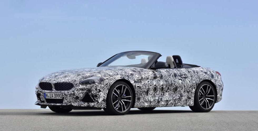 BMW  تقدّم نسختين جديدتين من Z4