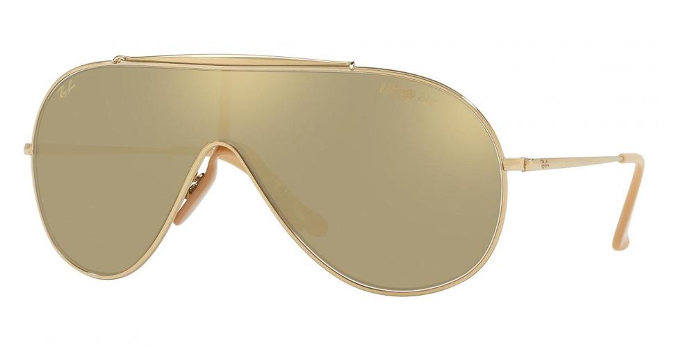 نظارات مطلية بالذهب من راي بان