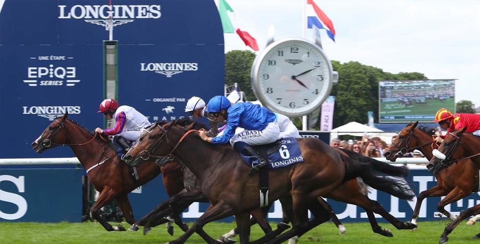 لورينز يفوز في Prix de Diane Longines