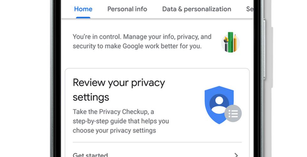 Google  تغيّر صفحة إعداداتها