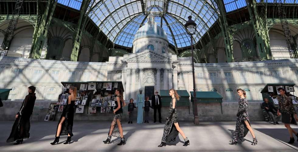 شانيل في معرض باريس ولن تُعرض للبيع