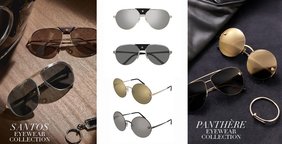 Cartier تقدّم مجموعة نظارات حديثة