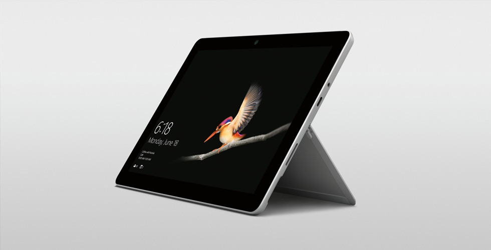 Microsoft  تطلق أصغر Surface Go