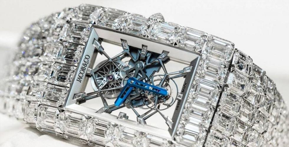 ساعة المليونير من Jacob & Co