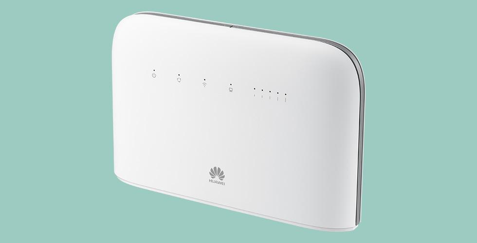 جهاز توجيه الإنترنت الفريد في العالم من Huawei