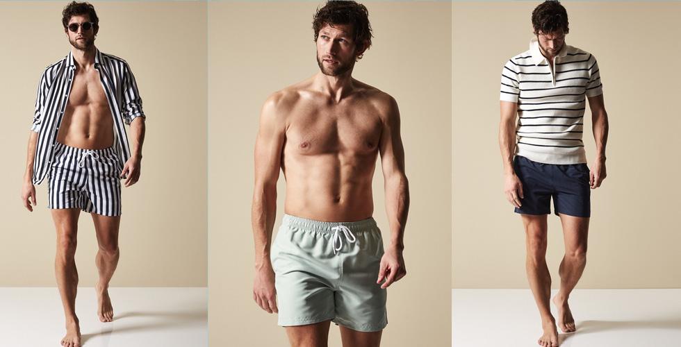 Reiss تقدّم ملابس سباحة مميّزةً