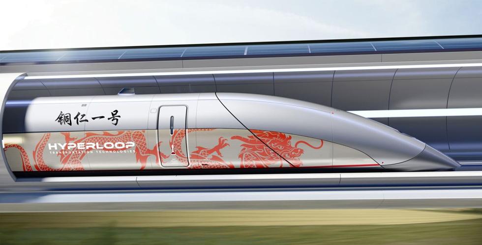 HyperloopTT ستبني أول نظام هايبرلوب في الصين