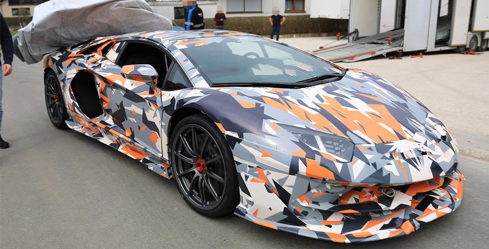 Lamborghini  تؤكّد Aventador SVJ  الجديدة