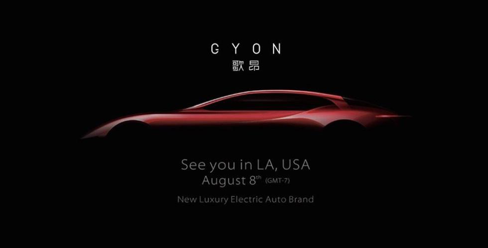 Gyon  الصّينيّة تنطلق في أغسطس المقبل