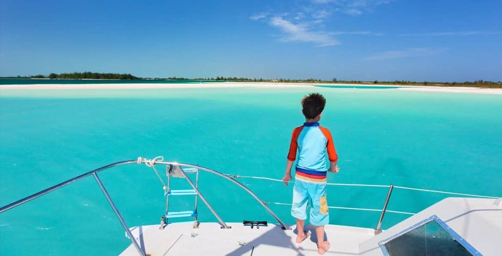 عطلة رائعة مع أولادكم بين يخت وبحر