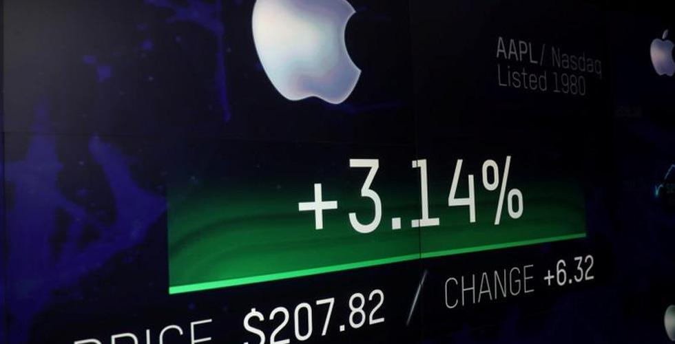 أبل السبّاقة في قيمتها السوقية:تريليون دولار