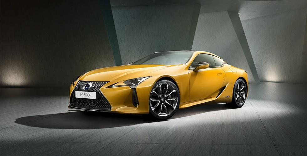 نسخة محدودة من Lexus LC