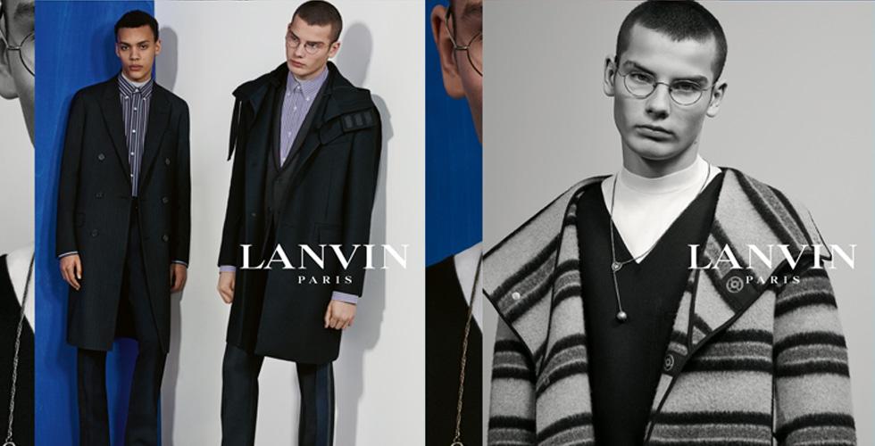 Lanvin تقدّم التصاميم المعاصرة