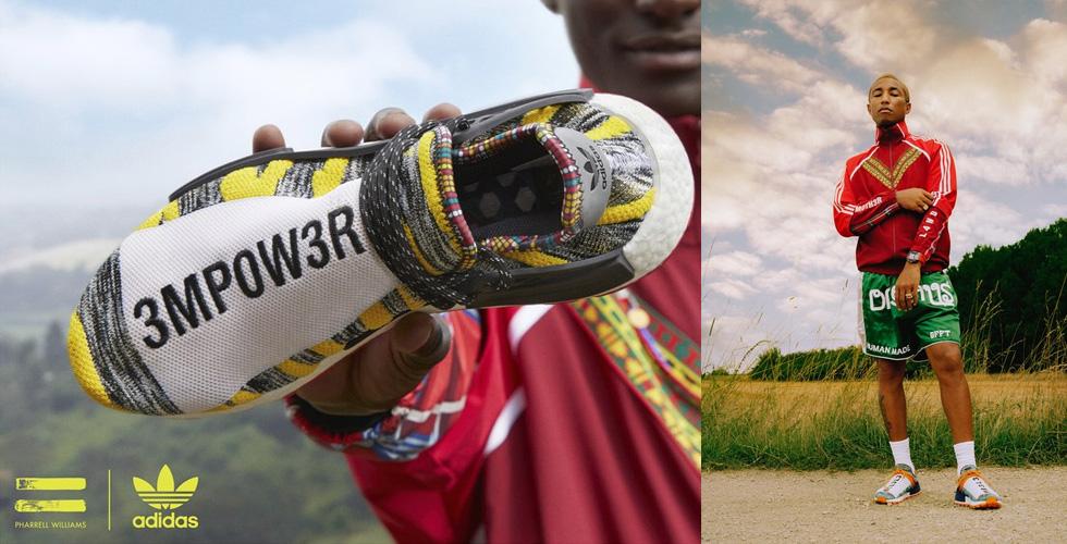 فاريل ويليامز يقدّم أحذيةً رياضيةً جديدةً