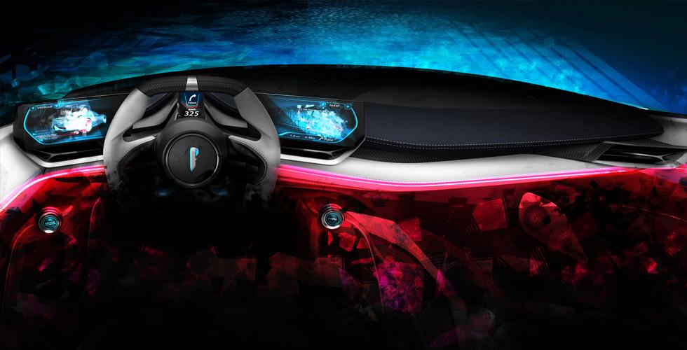 Pininfarina تنافس Bugatti عبر PF0