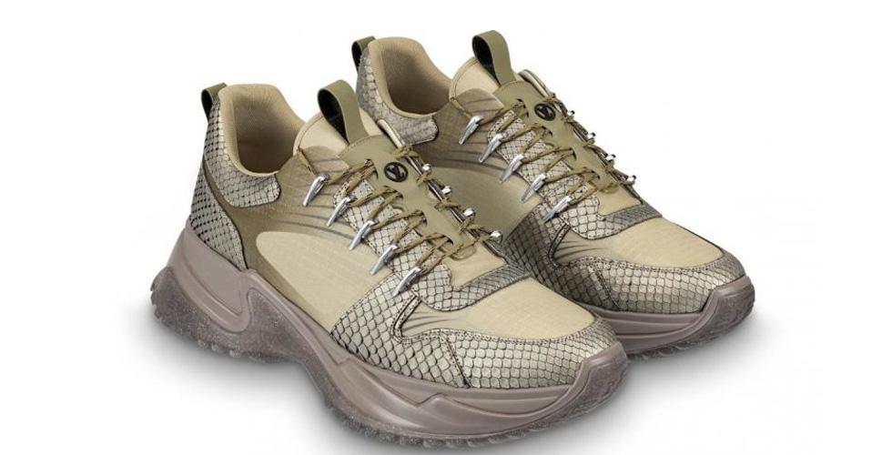 Louis Vuitton تقدّم حذاءً رياضيًا جديدًا