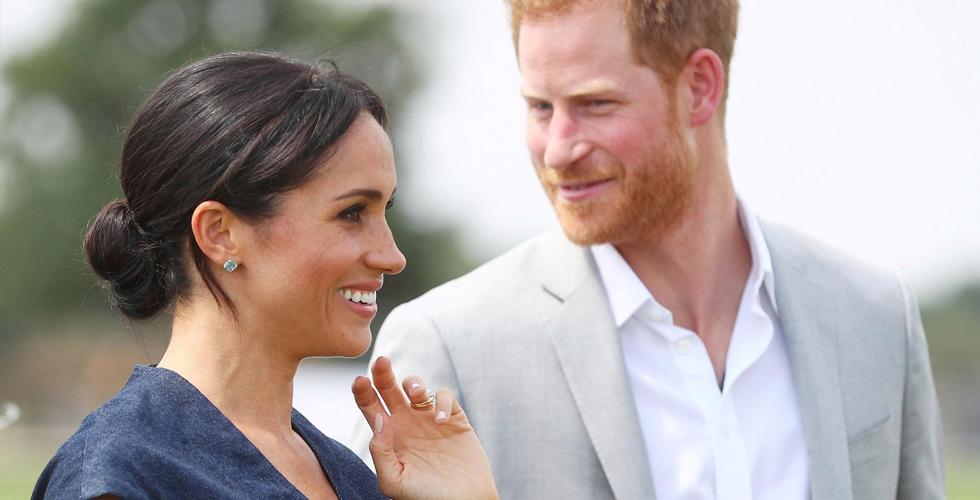 الأمير هاري وزوجته يحضران مسرحية خيرية في لندن