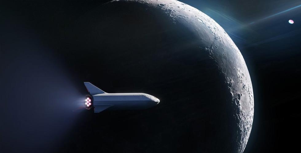 SpaceX تنوي إرسال مواطنٍ حول القمر