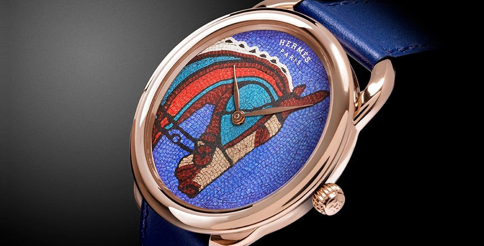 Hermès تجسد فن الفسيفساء