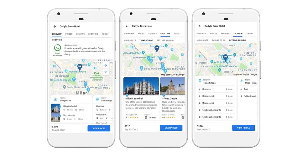 Google وخدمات متطوّرة للسّفر